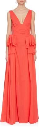 Rosie Assoulin Rough-Led Around the Edges Dress