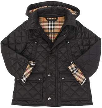 Burberry Quilted Nylon Puffer Jacket
