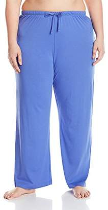 Nautica Women's Plus Size Jersey Long Pant