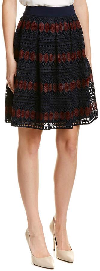 Trina Turk Leland A-Line Skirt