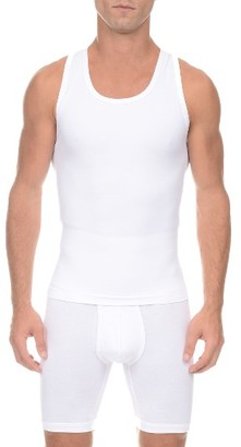 Men's 2(X)Ist Form Shaping Tank $45 thestylecure.com