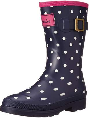 Joules T_JNR Girls Welly Boot (Toddler/Little Kid/Big Kid), White