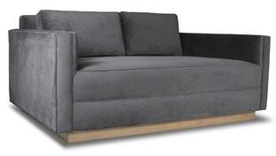 Orren Ellis Picariello Plush Deep Sofa Orren Ellis