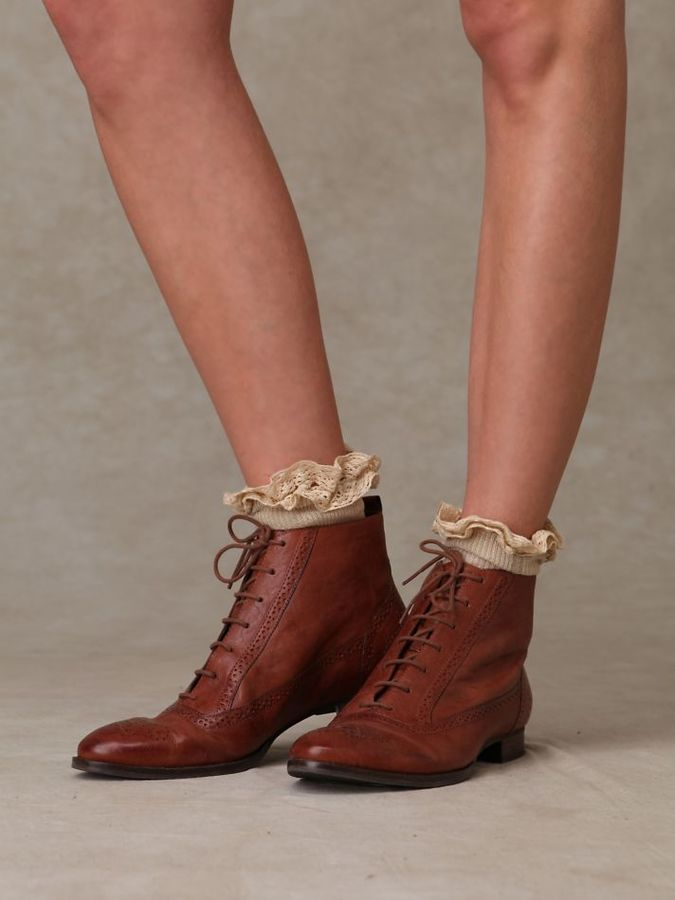 Oxford Ankle Boot