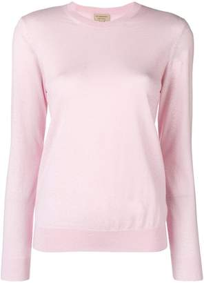 Burberry long-sleeve fitted sweater