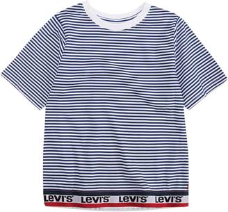 Levi's Girl's Varsity Taping Cotton Top