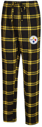 Concepts Sport Men Pittsburgh Steelers Homestretch Flannel Sleep Pants