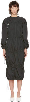 Markoo Grey The Multi Ruched Dress