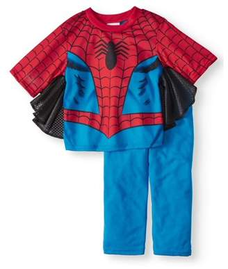 Spiderman Short Sleeve Costume Play Pajamas, 2-piece Set (Toddler Boys)
