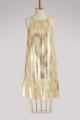 Vanessa Seward Flamme silk dress