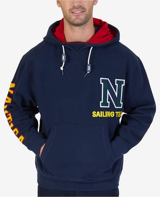 Nautica Men's Big & Tall Graphic-Print Hooded Sweatshirt