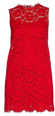 Dolce & Gabbana Women's Sleeveless Lace Sheath Dress