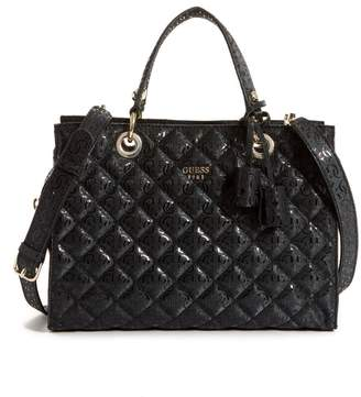GUESS Seraphina Quilted Satchel