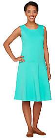 Denim & Co. Perfect Jersey Sleeveless DropWaist Dress