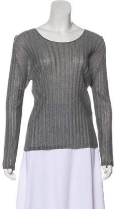 Pleats Please Issey Miyake Scoop Neck Long Sleeve Top w/ Tags
