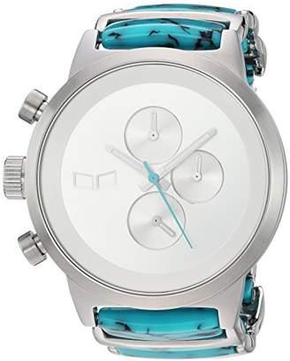 Vestal 'Metronome' Quartz Stainless Steel Dress Watch