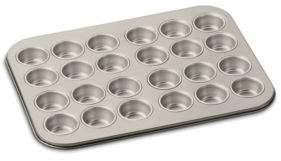 Cuisinart Chef's Classic Non-Stick Champagne 24 Cup Mini Muffin Pan