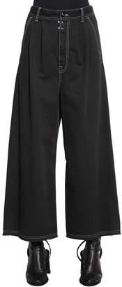 MM6 MAISON MARGIELA Baggy Wide Leg Cotton Denim Jeans