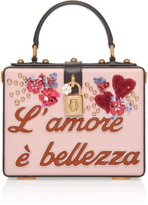 Dolce & Gabbana Embellished Leather Box Tote