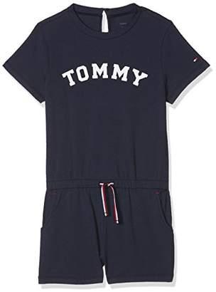 Tommy Hilfiger Girl's Playsuit Onesie,(Size: 4-5)