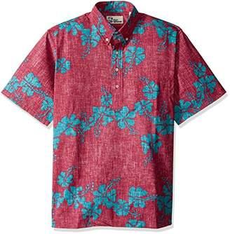 Reyn Spooner Men's 50th State Flower Kloth Classic Fit Pullover Shirt
