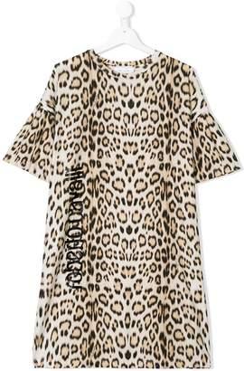 Roberto Cavalli Junior TEEN leopard dress