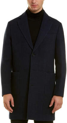 Brooks Brothers Wool Dress Coat