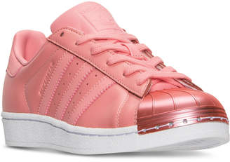 adidas Women's Superstar Metal Toe Casual Sneakers from Finish Line