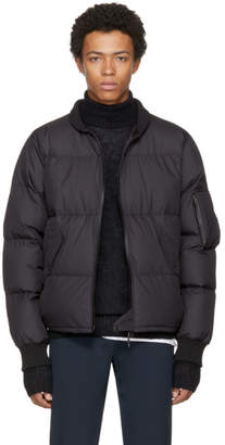 Nanamica Black Down MA-1 Bomber Jacket