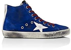 Golden Goose Women's Francy Suede Sneakers - Blue