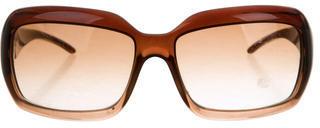Jimmy ChooJimmy Choo Logo-Embellished Oversize Sunglasses