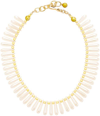 Brinker & Eliza Limoncello Vintage Beaded Necklace