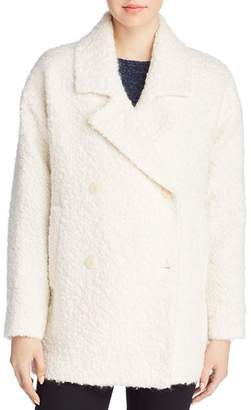 Eileen Fisher Alpaca Bouclé Peacoat - 100% Exclusive