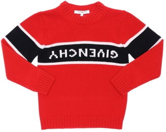 Givenchy WOOL & CASHMERE KNIT SWEATER