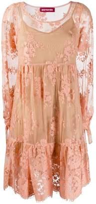 Guardaroba lace flared dress