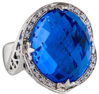 CharriolCharriol Blue Quartz & Diamond Cocktail Ring