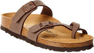 Birkenstock Mayari Birkibuc Leather Sandal