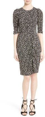 Women's Rebecca Taylor Floral Fizz Midi Dress $350 thestylecure.com