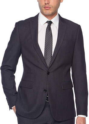 Jf J.Ferrar Dots Super Slim Fit Stretch Suit Jacket