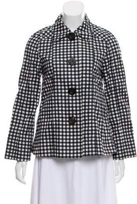 Trademark Printed Casual Jacket