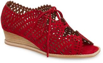 Jeffrey Campbell Espejo Lace-Up Wedge