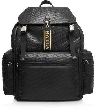 Bally Crew Leather Backpack