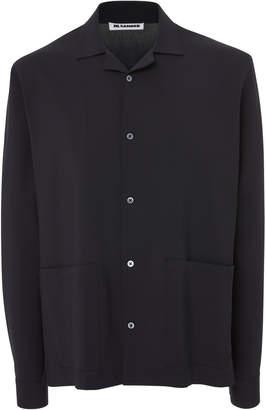 Jil Sander Patch Pocket Wool Shirt