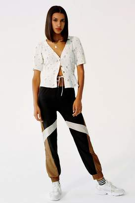 Urban Outfitters Nylon Colorblock Jogger Pant