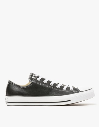 Leather Low Top in Black $65 thestylecure.com