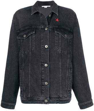 Stella McCartney star patch denim jacket