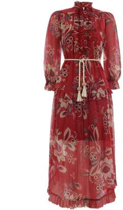 Zimmermann Juno Frill Long Dress