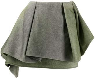 Nina Ricci deep ruffle mini skirt
