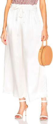 Raquel Allegra Paper Bag Pant