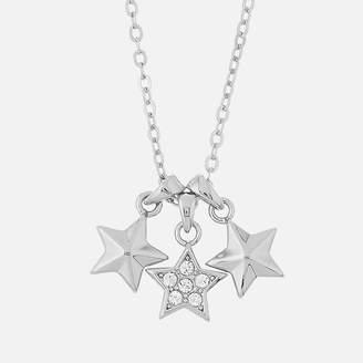 Ted Baker Women's Shami Pave Shooting Star Cluster Pendant - Silver/Crystal